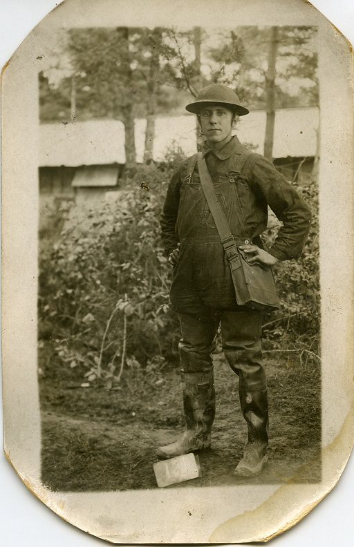 Benjamin Belesky, stationed in France.
