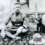 George C. Haefner, WWI. Date Unknown. Location Unknown.