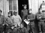 Members of the 13th Engineers Regiment, stationed in France.