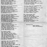 Another poem written by Cholly Mahen of the 13th Engineers Regiment.
