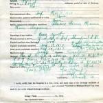 Ross Stofflet, Enlistment Record