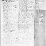 A Newspaper article describing the enlistment of the Vaughan brothers.