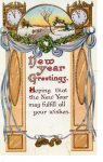 A postcard to Ada Betts-New Year-1915.