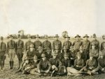Enlisted soldiers at Camp Custer.