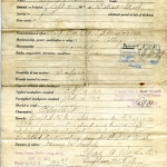 Enlistment Record for Harry Brock